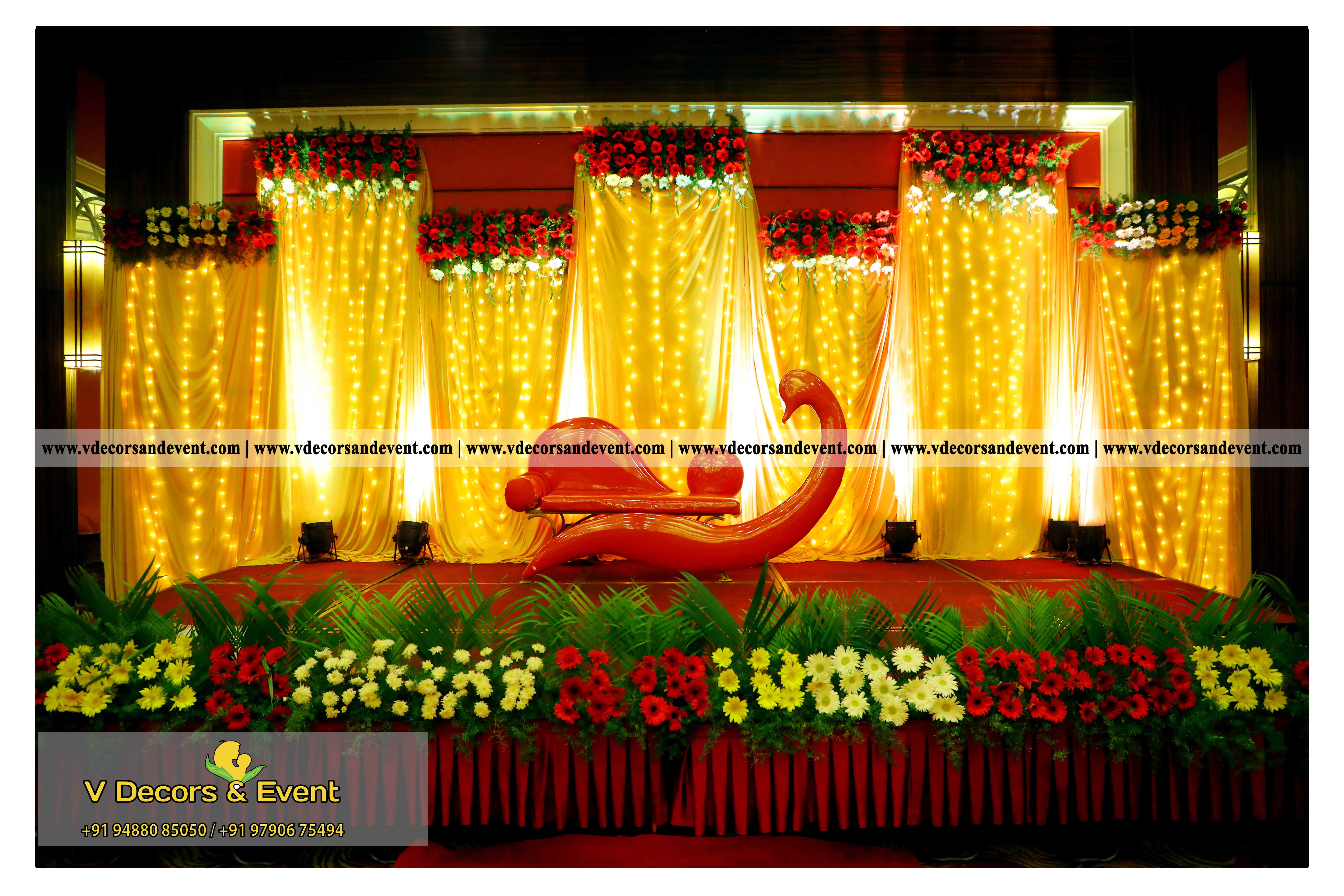 Latest event decoration grand serena hotel pondicherrylatest event wedding reception decoration organize at grand serena hotel pondicherry junglespirit Image collections