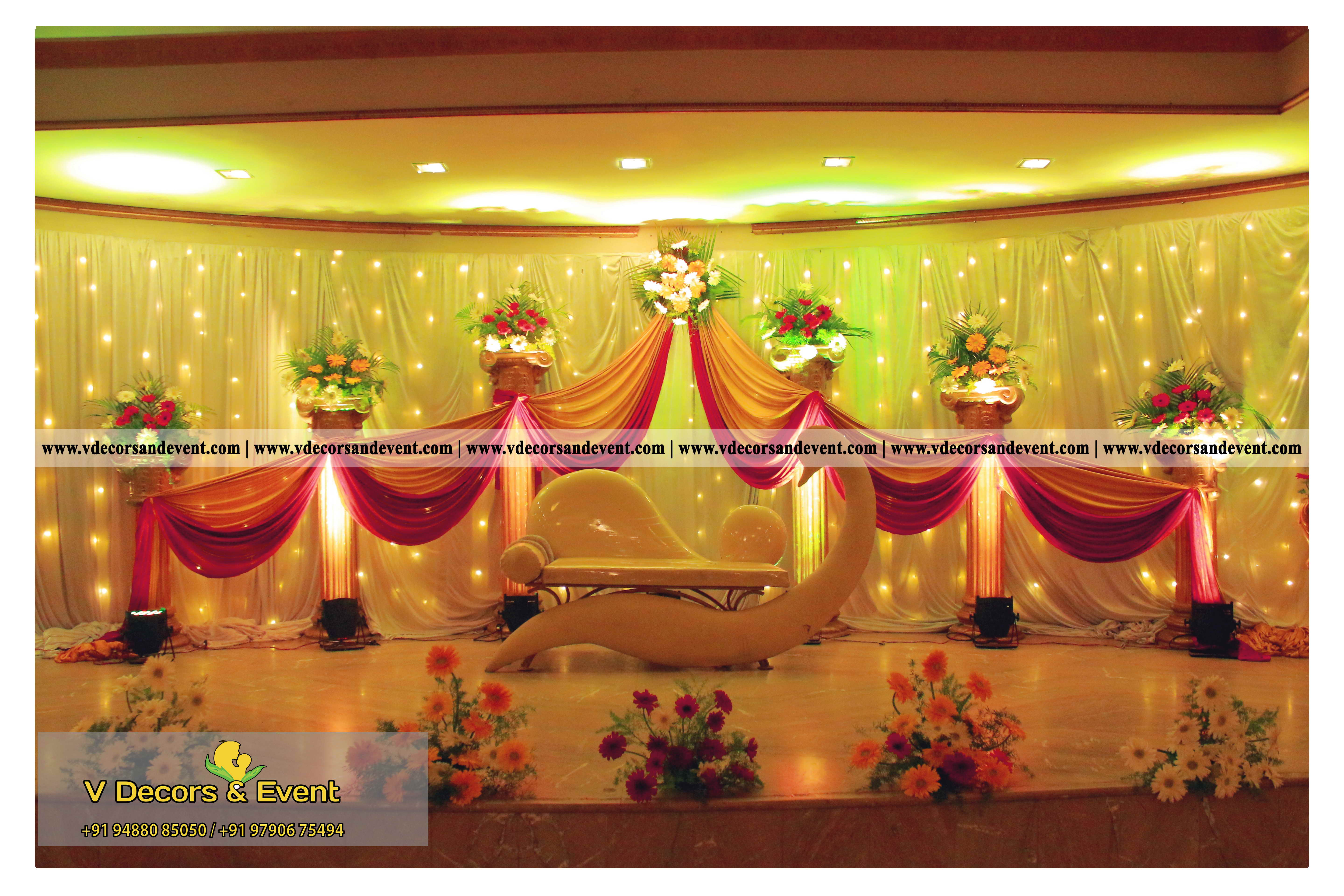 Latest decoration le royal park hotel pondicherrylatest wedding wedding reception decoration organize at le royal park hotel pondicherry junglespirit Image collections