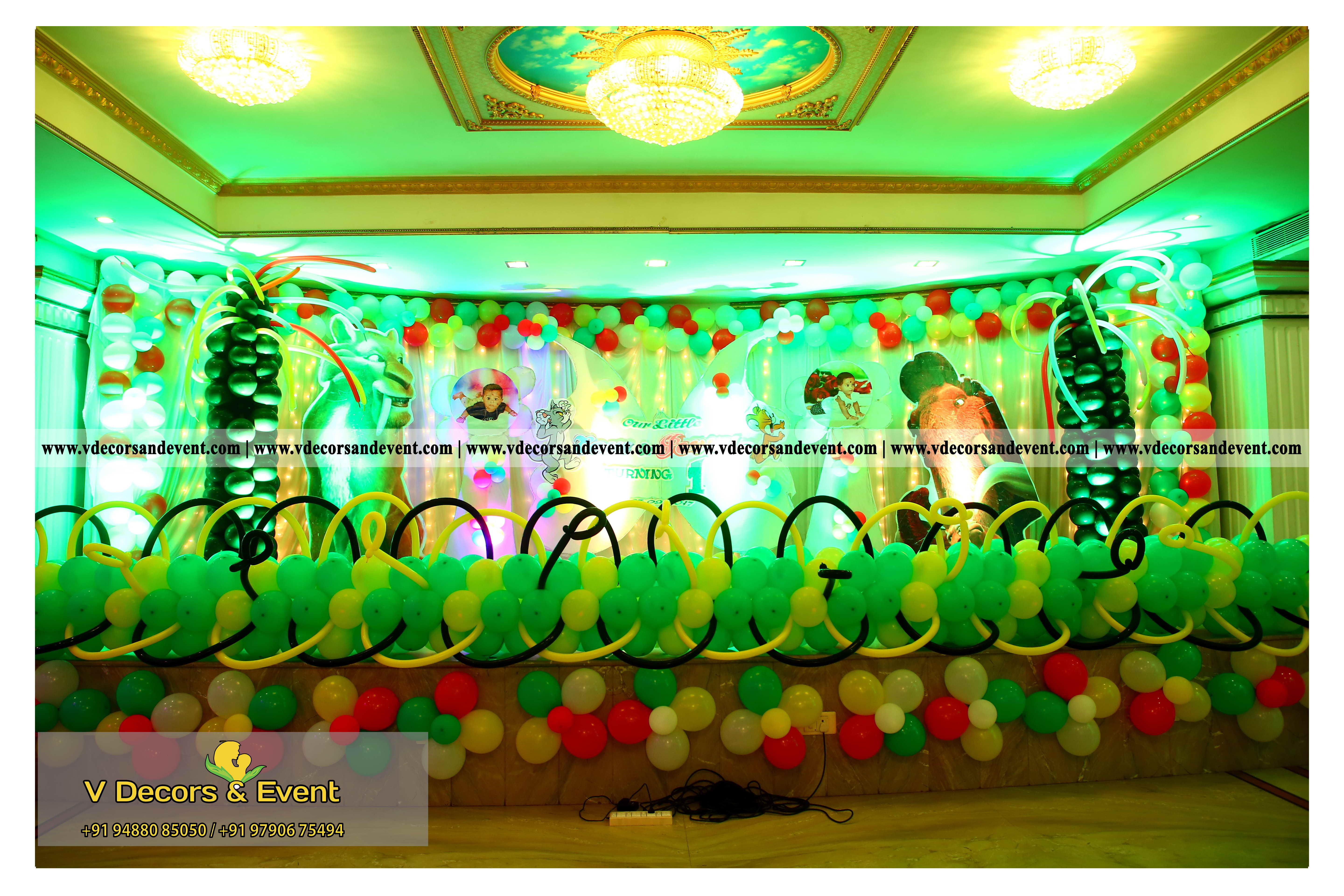 Tom And Jerry Themed Decoration Organize At Le Royal Park Hotel Pondicherry