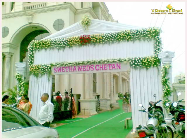 Nameboard ,Arches Decorations Pondicherry and Arches Decorations Tamilnadu