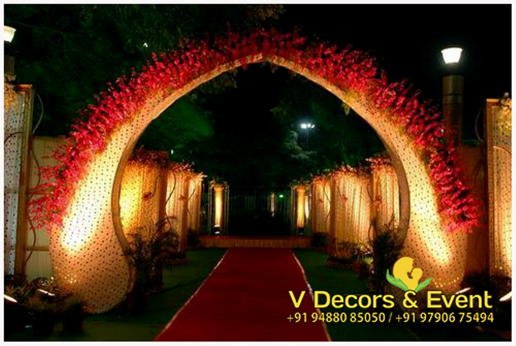 Pathway Decorations Pondicherry and Pathway Decorations Tamilnadu