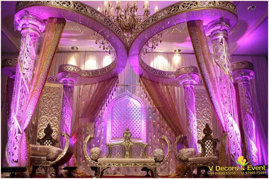 simple decorations ethnic us see decor wedding luxury stage remedygolf