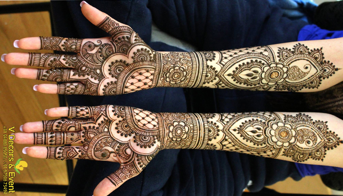 mehendi vdecors and events