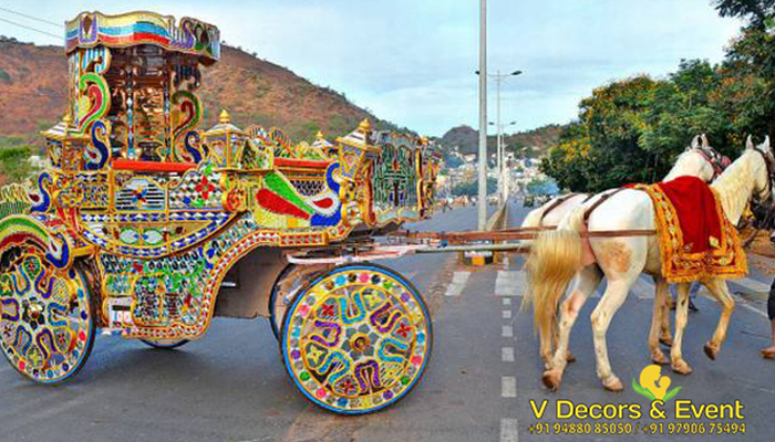 wedding chariot vdecors and events
